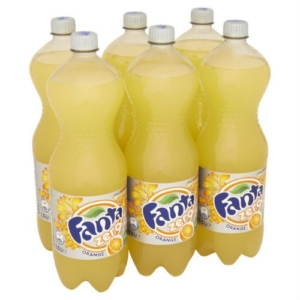 Tray 6st. Fanta Light 1,5ltr