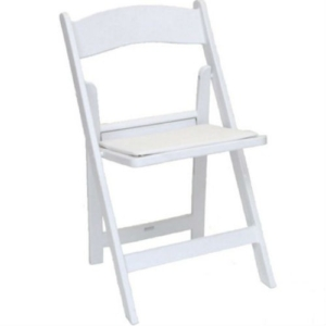 Wedding chair (wit)