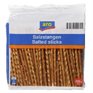 Zoute sticks 250 gram